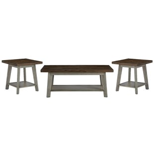 Addis 3 Piece Coffee Table Set