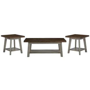 Addis 3 Piece Coffee Table Set One Allium Way