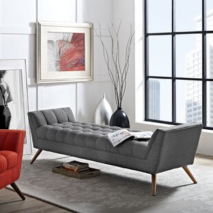 Fiske Upholstered Bench by Ivy Bronx
