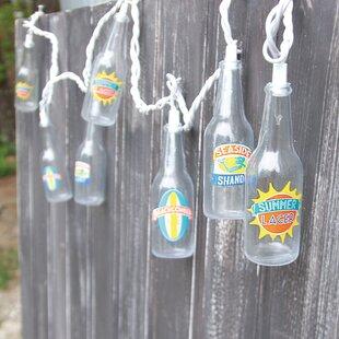 DEI 10-Light 7.5 ft. Summer Beer String Lights