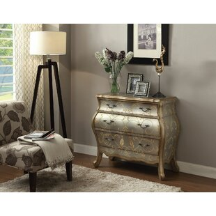 Ragsdale Bombay 3 Drawer Chest by Astoria Grand