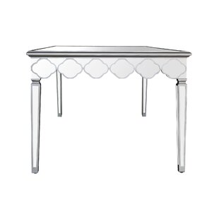 Sophie mirrored dining table wayfair naccarato mirrored dining table watchthetrailerfo
