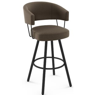 Nixon Swivel Bar Stool by 17 Stories