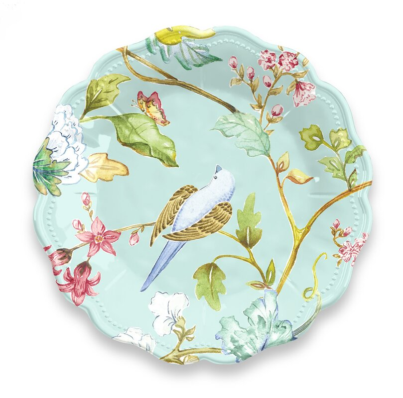 Hedin Spring Chinoiserie Melamine Salad Plate  sc 1 st  Wayfair & Latitude Run Hedin Spring Chinoiserie Melamine Salad Plate \u0026 Reviews ...