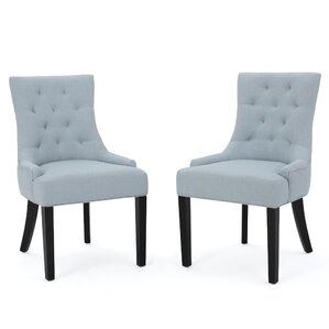 Top Reviews Grandview Parsons Chair (Set of 2) by Alcott Hill