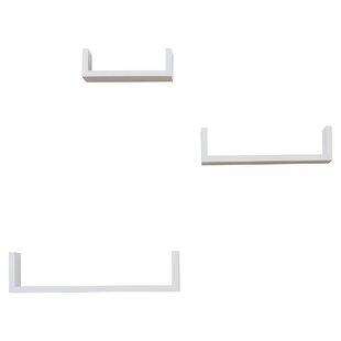 Set Of 3 Floating Shelves Wayfair