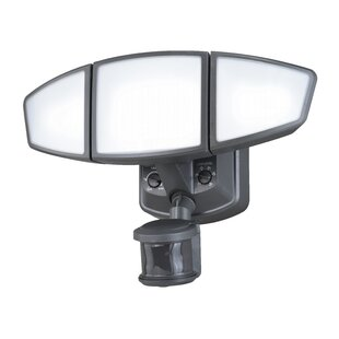 Omega LED Outdoor Security Flood Light with Motion Sensor