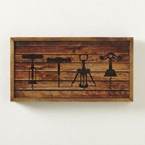 corkscrew wall art