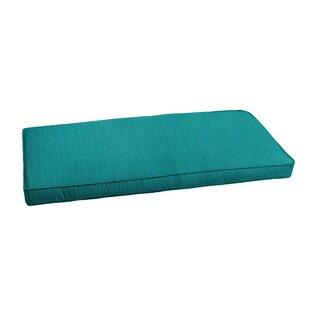 Textured Indoor/Outdoor Sunbrella Bench Cushion