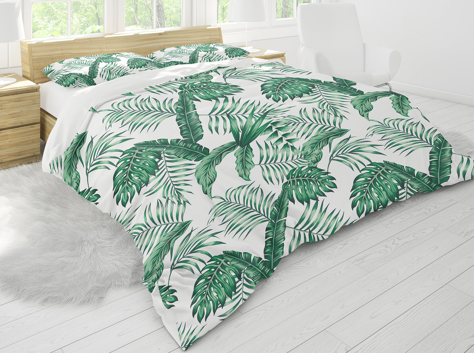 Bayou Breeze Micaela Tropical Leaves Comforter Set Wayfair Find over 100+ of the best free tropical leaves images. micaela tropical leaves comforter set