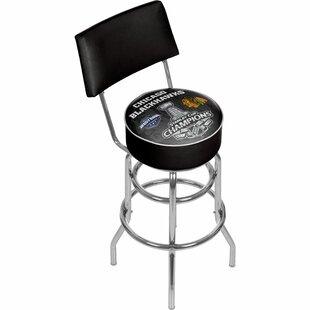 NHL 31 Swivel Bar Stool Trademark Global