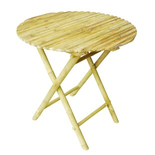 Larnakas Round Low Folding Side Table