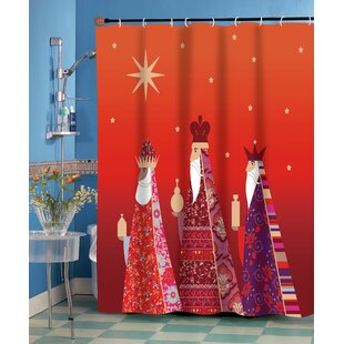 Three Kings Single Shower Curtain