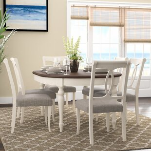 Lattimore 7 Piece Dining Set Rosecliff Heights