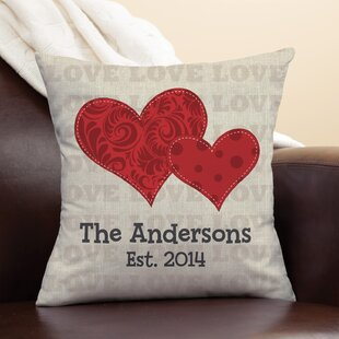 Senora Heart of Love Throw Pillow
