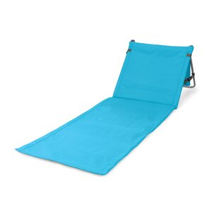 Freeport Park Auriville Mat Folding Beach Chair
