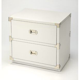 Wimbled 2 Drawer Accent Chest by Everly Quinn