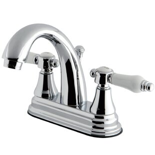 Kingston Brass Bel Air Centerset Bathroom Faucet with Drain Assembly Image
