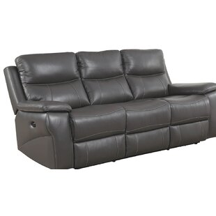Affordable Price Maki Top Grain Reclining Sofa by Red Barrel Studio Reviews (2019) & Buyer's Guide