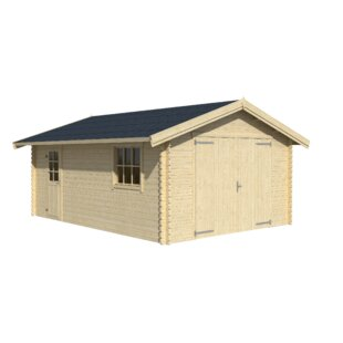 Beebe 4m X 5.5m Garage By Sol 72 Outdoor
