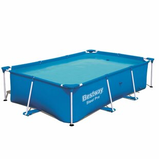 Bestway 7-Person Swimming Pool With Steel Frame By VidaXL