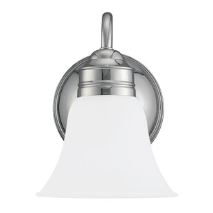 Burkes 1-Light Bath Sconce by ..