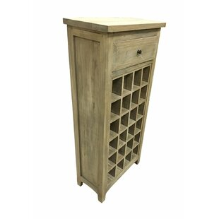 Irvings Classy Cabinet 1 Drawer Floor Wine Rack by Rosecliff Heights