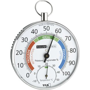 Chiwetel Thermo Hygrometer By Symple Stuff