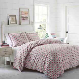 Lisbon 100% Cotton Reversible Comforter Set