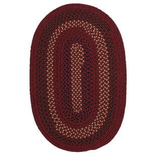 Omaha Deep Russet Indoor/Outdoor Area Rug By Darby Home Co