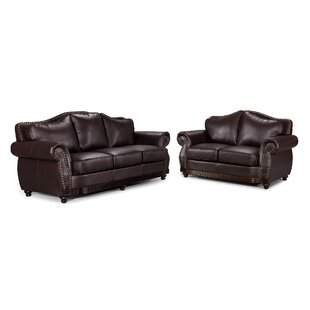 Leandra Scrolled 2 Piece Living Room Set by Fleur De Lis Living