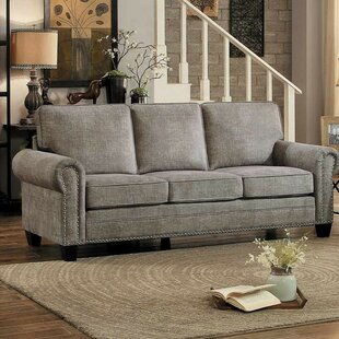 Compare Iola Nail Head Trim Sofa by Charlton Home Reviews (2019) & Buyer's Guide