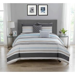 Rachita 100% Cotton 5 Piece Comforter Set