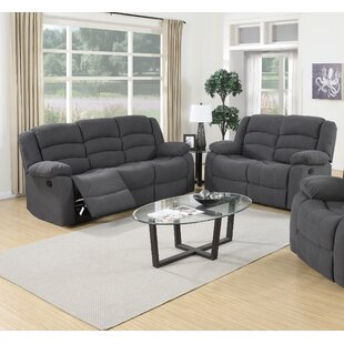 Essex Street Reclining 2 Piece Living Room Set Red Barrel Studio