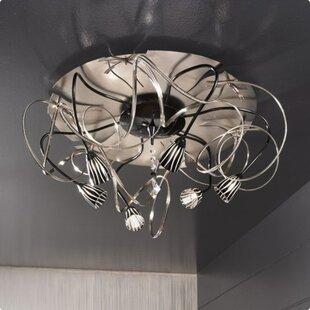Zanin Lighting Inc. Chic 6-Light Semi Flush Mount