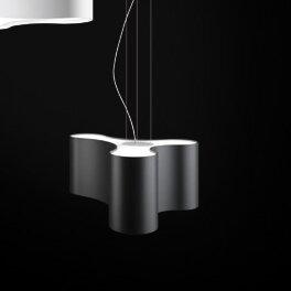 Ameba 3-Light Geometric Chandelier by Vibia