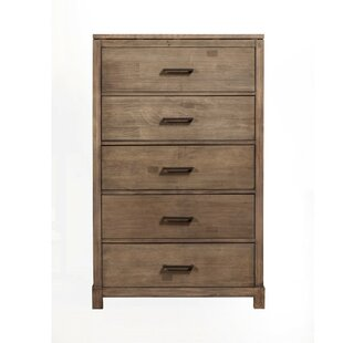 Bonfield 5 Drawer Chest by Foundry Select
