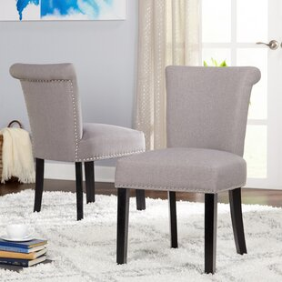 Hubler Upholstered Dining Chair (Set of 2) Mercer41
