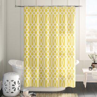 Modern Yellow Gold Shower Curtains Allmodern