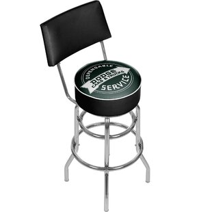 Dodge Service 31 Swivel Bar Stool Trademark Global