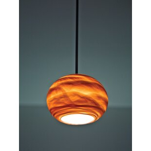Lapointe 1-Light Globe Pendant by Bloomsbury Market