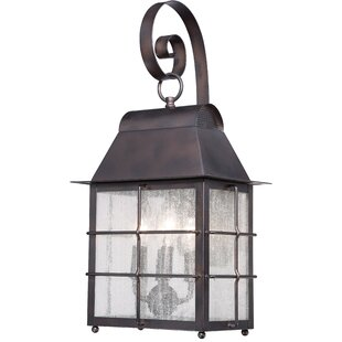 World Menagerie Lelystad 4-Light Outdoor Wall Lantern