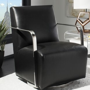 Bevill Swivel Armchair by Orren Ellis