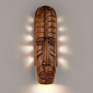 Hartsfield Tribal Mask Decorative Light W..
