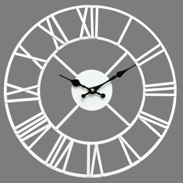 Extra Large Metal Wall Clocks Wayfair Co Uk