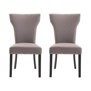 Review Keele Upholstered Dining Chair (Set Of 2)