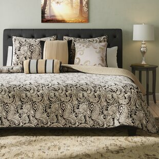 Wesson 6 Piece Reversible Coverlet Set