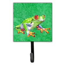 Frog Wall Hook by Caroline's Treasures