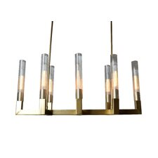 8 Light Candle-Style Chandelier