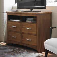 Andover 4 Drawer Media Chest by World Menagerie